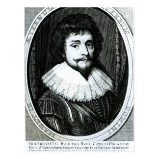 Carte Postale Frederick V, roi de la Bohême