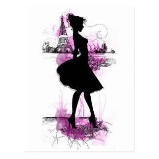 Carte Postale French girl