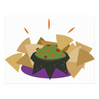 Carte Postale Frites et guacamole