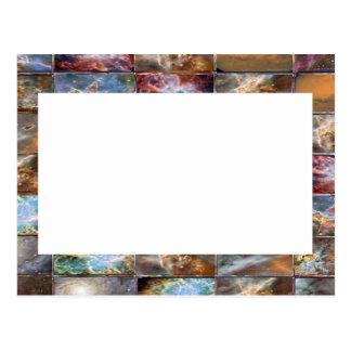 Carte Postale Frontière artistique - ajoutez votre texte ou