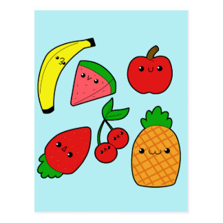 Carte Postale Fruits