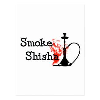 Carte Postale Fumée Shisha
