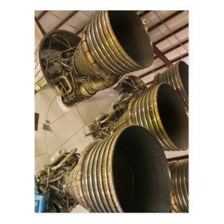 Carte Postale Fusée Saturn v