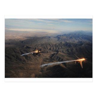 Carte Postale Fusées du bombardier B-1