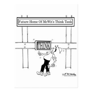 Carte Postale Future maison d'un groupe de réflexion