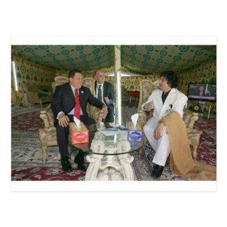 Carte Postale ~ Gaddafi de la Libye pour toujours