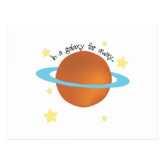 Carte Postale Galaxie loin