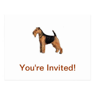 Carte Postale Gallois Terrier