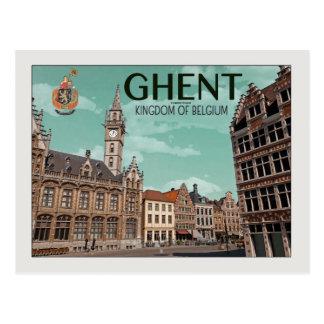 Carte Postale Gand - Korenmarkt