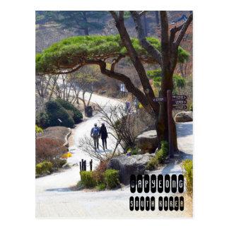 Carte Postale Gapyeong en Corée du Sud
