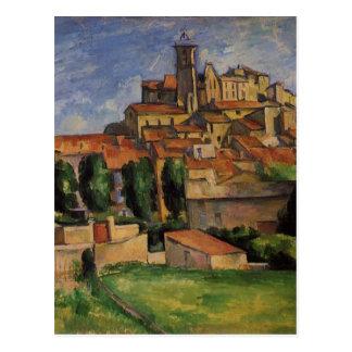 Carte Postale Gardanne (vue horizontale) par Paul Cezanne