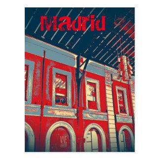 Carte Postale Gare de Madrid Prince Pépiement
