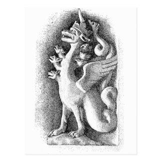 Carte Postale Gargouille