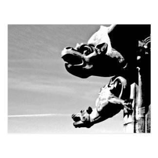 Carte Postale Gargouilles
