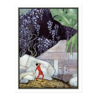 Carte Postale Géant vintage par la Virginie Frances Sterrett