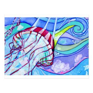 Carte Postale Gelée de Surfin