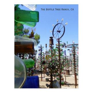 Carte postale géniale de ranch d'arbre de
