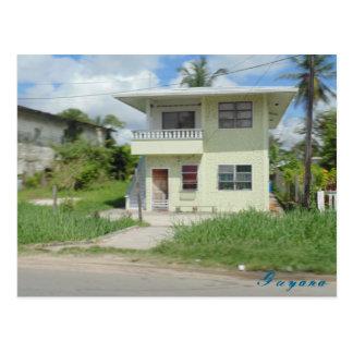 Carte postale gentille de la Guyane de voyage de