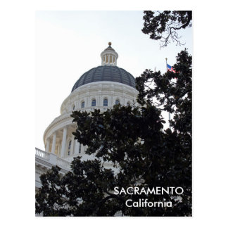 Carte postale gentille de Sacramento !