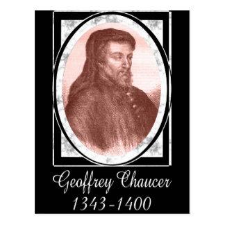 Carte Postale Geoffrey Chaucer