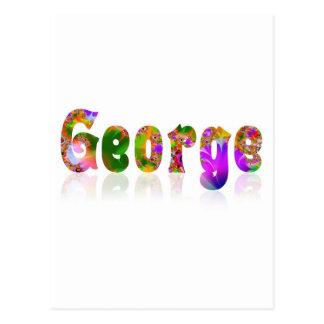 Carte Postale George