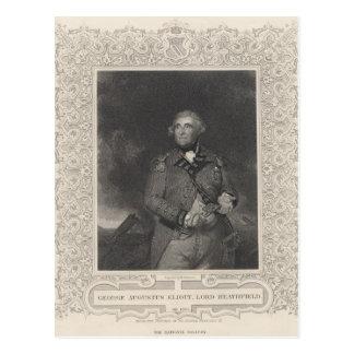 Carte Postale George Augustus Eliott, ęr baron Heathfield