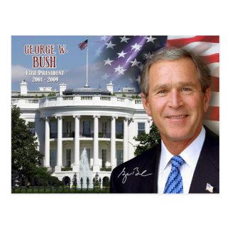 Carte Postale George W. Bush - quarante-troisième président des