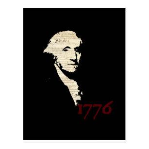 Carte Postale George Washington - conception 1776