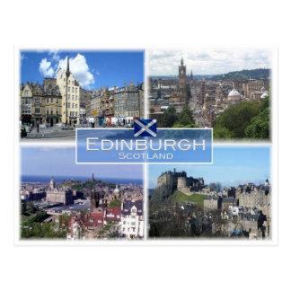 Carte Postale Gigaoctet Royaume-Uni - Ecosse - Edimbourg -