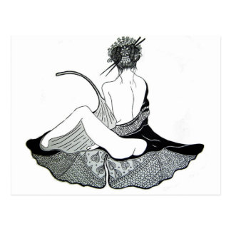 Carte Postale Ginko-Chan