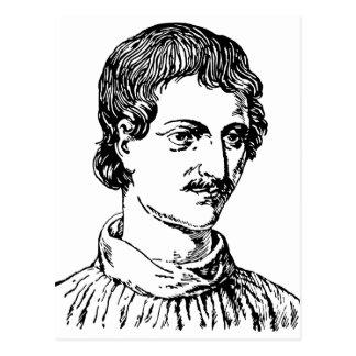 Carte Postale Giordano Bruno