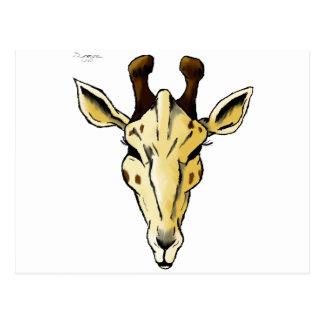 Carte Postale Girafe