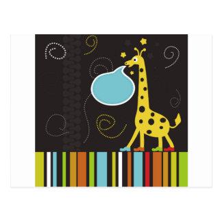 Carte Postale Giraffe2