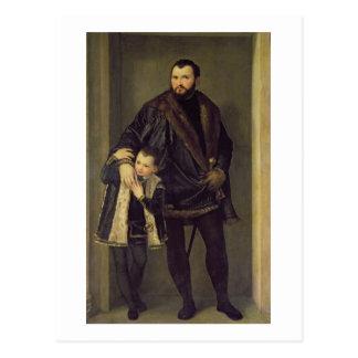 Carte Postale Giuseppe DA Porto et son fils Adriano, c.1555