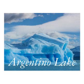 Carte Postale Glaciars, lac Argentino