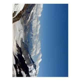 Carte Postale Glacier d'Aletsch chez Jungfrau en Suisse