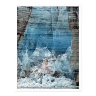 Carte Postale Glacier de Lamplugh, parc national de baie de