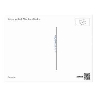 Carte Postale Glacier de Mendenhall