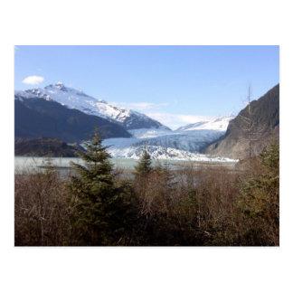 Carte Postale Glacier de Mendenhall, Alaska