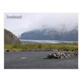 Carte Postale Glacier de Skaftafellsjökull, Islande