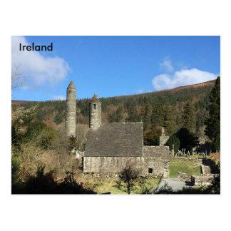 Carte Postale Glendalough, Cie. Wicklow, Irlande