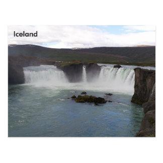 Carte Postale Goðafoss, Bárðardalur, Islande