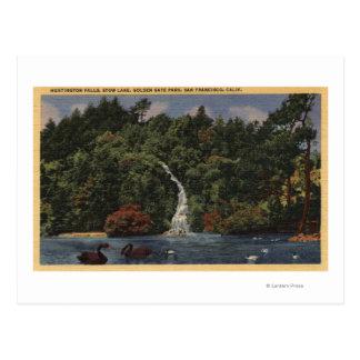 Carte Postale Golden Gate Park, automnes de lac stow, Huntington