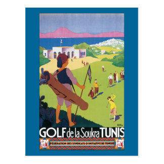 Carte Postale Golf de la Soukra Tunis