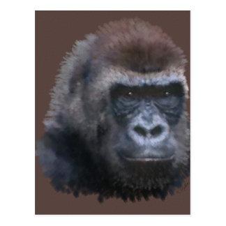 Carte Postale Gorille de Silverback