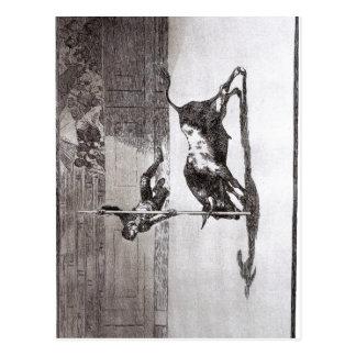 Carte Postale Goya la vitesse et l'audace de Juanito api ? ani