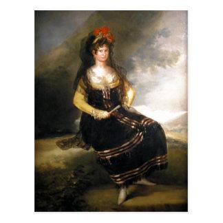 Carte Postale Goya récapitulatif y Lucientes, Francisco de The