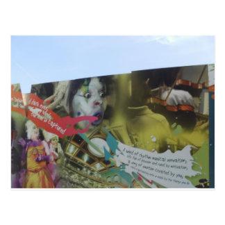 Carte Postale Graffiti
