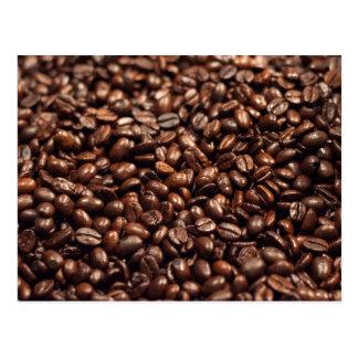 Carte Postale Grains de café