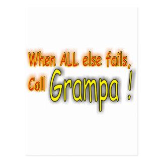Carte Postale Grampa